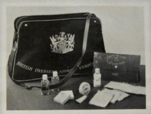 BOAC In Flight Amenity Bag