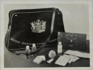 BOAC In Flight Amenity Bag